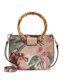 Vince Camuto Iggy Floral Crossbody Bag LIGHT PINK