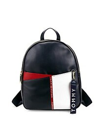 Tommy Hilfiger Ruby Backpack NAVY RED WHITE STRIPE