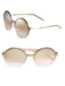 Marc Jacobs 54MM Round Sunglasses GOLD