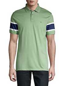Calvin Klein Engineered Polo Shirt BRIGHT MOSS