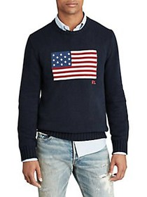 Polo Ralph Lauren The Iconic Flag Sweater NAVY