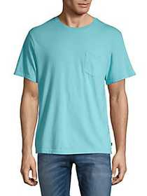 Lucky Brand Crewneck Pocket Tee BLUE