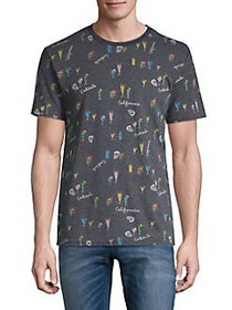 Lucky Brand Crewneck Graphic Tee MULTI