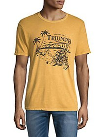 Lucky Brand Crewneck Graphic Tee GOLDEN YELLOW