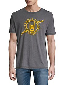 Lucky Brand Graphic Logo Tee GREY