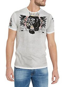 BUFFALO David Bitton Graphic Short-Sleeve Cotton T