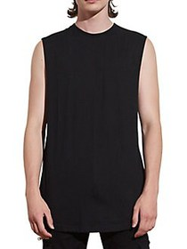 Nana Judy Basic Cotton Tank Top BLACK