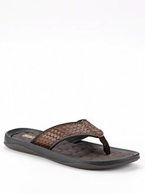Kenneth Cole REACTION Go Four-th Snake-Embossed Sa