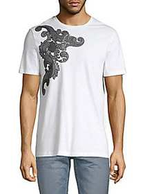 Versace Collection Graphic Short-Sleeve Cotton Tee