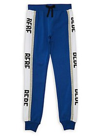 Bebe Girl's Logo Track Pants BLUE