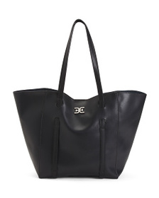 SAM EDELMAN Leather Isabella Large Tote