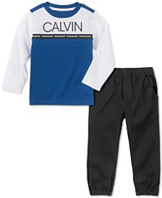 Calvin Klein Jeans Toddler Boys 2-Pc. Colorblocked