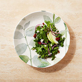 Crate Barrel Botanico Serving Bowl