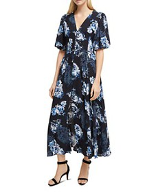 FRENCH CONNECTION - Caterina Floral-Print Front-Bu