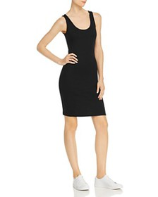 FRENCH CONNECTION - Tommy Ribbed Mini Tank Dress