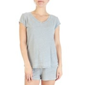 JACLYN Jersey Knit T-Shirt & Shorts Pajama Set