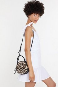 Nasty Gal Womens Leopard WANT In Your Wildest Drea
