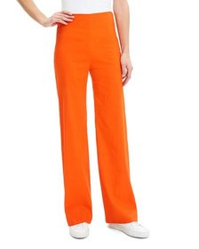 Theory Clean Crunch Wash Wide-Leg Pants