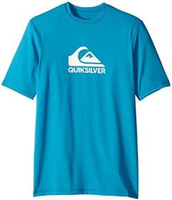 Quiksilver Kids Solid Streak Short Sleeve Surf Tee