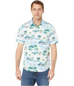 Nautica Casual Island Short Sleeve Shirt
