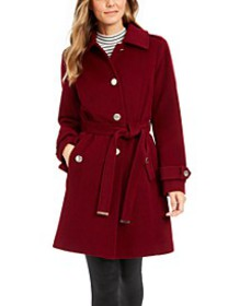 Michael Michael Kors Belted Walker Coat, Created f