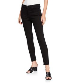 7 For All Mankind Gwenevere Squiggle Mid-Rise Skin