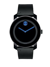 Movado BOLD TR90 Stainless Steel Watch BLACK