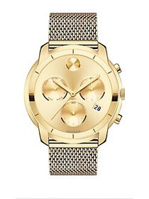 Movado BOLD Yellow Gold Ion-Plated Stainless Steel