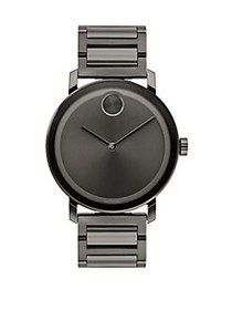 Movado BOLD Evolution Gunmetal Ion-Plated Stainles