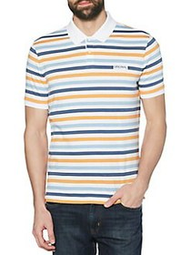 Original Penguin Breton Multi-Striped Polo Shirt B