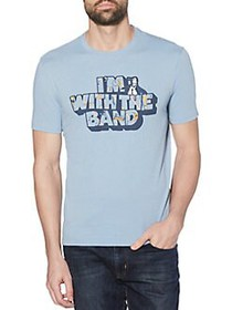Original Penguin I'm With The Band Graphic Tee FAD