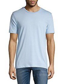 BOSS Cotton Crewneck Tee PASTEL BLUE