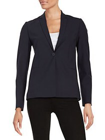 Elie Tahari Stretch Wool Darcy Jacket NAVY