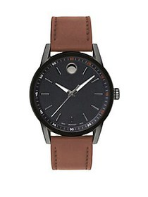 Movado Museum Sport Watch BROWN
