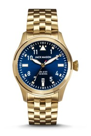 JACK MASON Men's Aviation Bracelet Watch