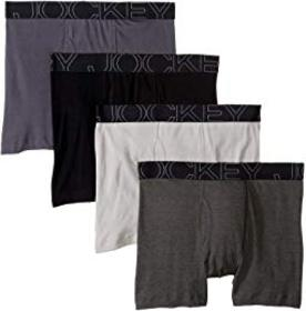 Jockey Active Blend Boxer Brief 4-Pack