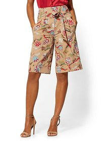 Madie Bermuda Short - Floral - Modern - 7th Avenue
