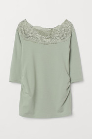 MAMA Top with Lace