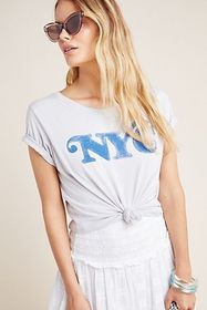 Anthropologie NYC Graphic Tee