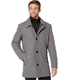 Kenneth Cole New York Button Front Wool Jacket w\u