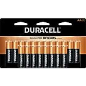 Duracell Plus Power Alkaline Battery, AA, 20 Pack