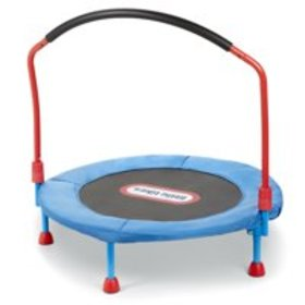 Little Tikes Easy Store 3-Foot Trampoline, with Ha