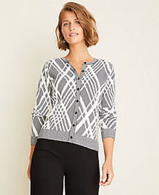 Argyle Seasonless Yarn Ann Cardigan