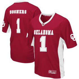 Oklahoma Sooners Colosseum Max Power Football Jers