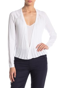 Kinross Open Front Ribbed Cardigan