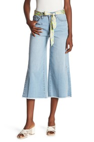 Seven7 High Waisted Wide Leg Cropped Jeans