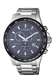 Citizen Men's Eco-Drive Chronograph Stainless Stee