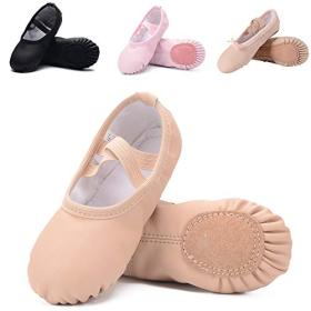 Leather Ballet Shoes for Girls/Toddlers/Kids/Women