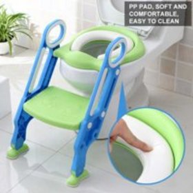 WALFRONT Portable Baby Toddler Soft Toilet Chair L