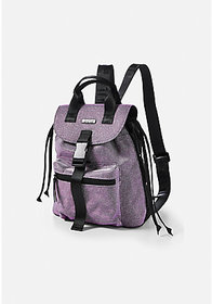 Justice Double Handle Glitter Mini Backpack